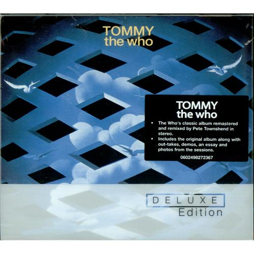 The Who Tommy Deluxe Edition Uk 2 Cd Album Set Double