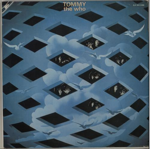 The Who Tommy - Gatefold 2-LP vinyl record set (Double Album) South African WHO2LTO648292