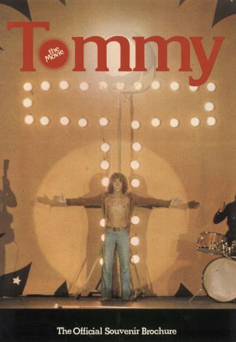The Who Tommy The Movie tour programme UK WHOTRTO301124
