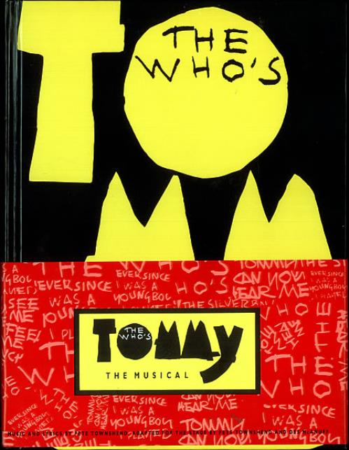 The Who Tommy The Musical book US WHOBKTO194350