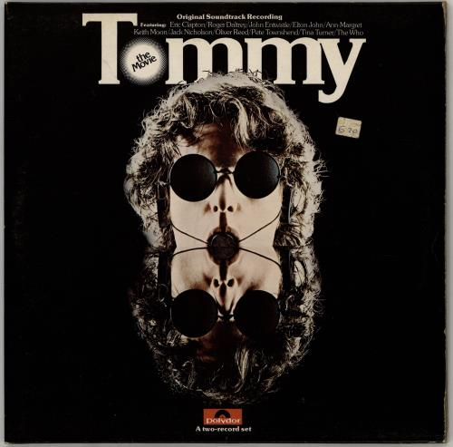 The Who Tommy: The Movie - EX 2-LP vinyl record set (Double Album) UK WHO2LTO256498