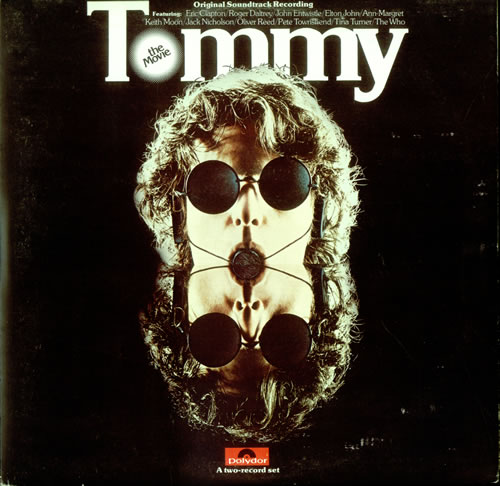 The Who Tommy: The Movie 2-LP vinyl record set (Double Album) UK WHO2LTO523791