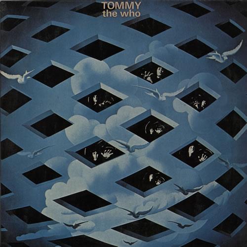 The Who Tommy 2-LP vinyl record set (Double Album) Italian WHO2LTO582358