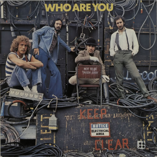 The Who Who Are You vinyl LP album (LP record) UK WHOLPWH136402