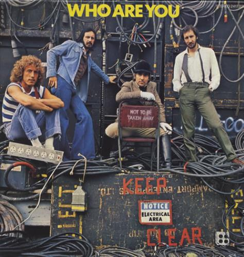 The Who Who Are You vinyl LP album (LP record) UK WHOLPWH397856