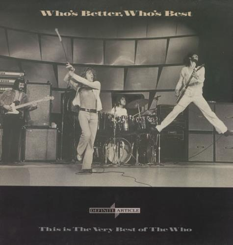 The Who Who's Better, Who's Best vinyl LP album (LP record) UK WHOLPWH131107