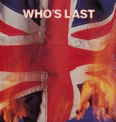 The Who Who's Last - Autographed 2-LP vinyl record set (Double Album) UK WHO2LWH271760