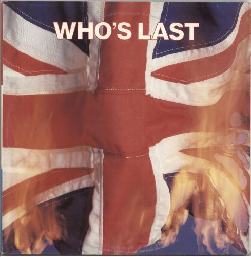 The Who Who's Last 2-LP vinyl record set (Double Album) Italian WHO2LWH727101