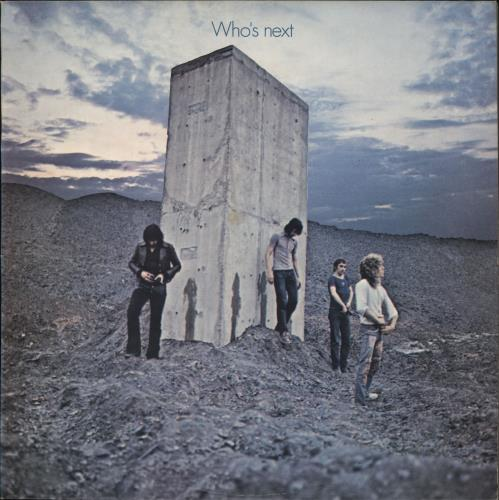 The Who Who's Next - 1st + Head Hunters Inner vinyl LP album (LP record) UK WHOLPWH263168