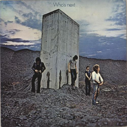 The Who Who's Next - 1st vinyl LP album (LP record) Japanese WHOLPWH723140