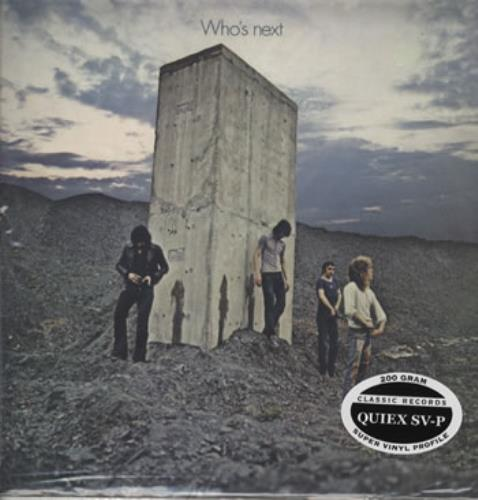 The Who Who's Next - 200gm - Sealed vinyl LP album (LP record) US WHOLPWH322178