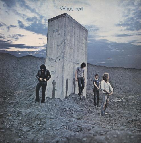 The Who Who's Next - 3rd - EX vinyl LP album (LP record) UK WHOLPWH739015