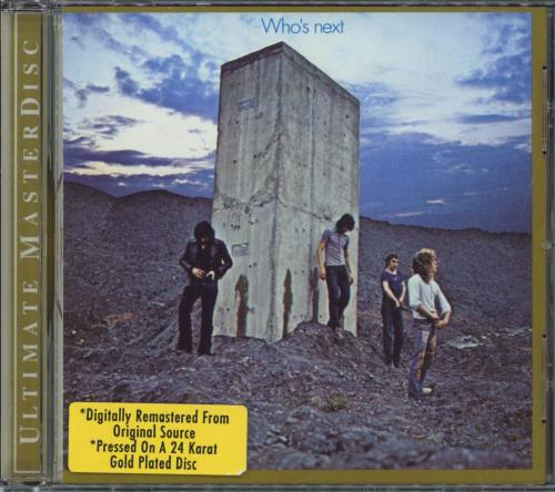 The Who Who's Next CD album (CDLP) US WHOCDWH254990