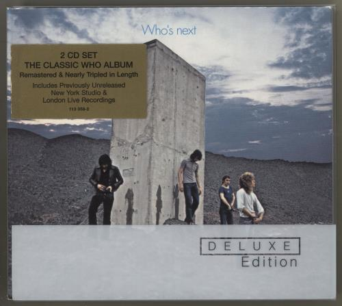 The Who Who's Next 2 CD album set (Double CD) UK WHO2CWH716588