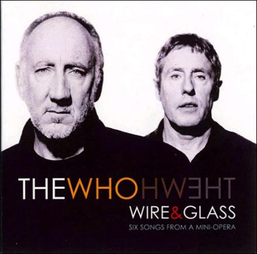 "The Who Wire & Glass CD single (CD5 / 5"") UK WHOC5WI365158"