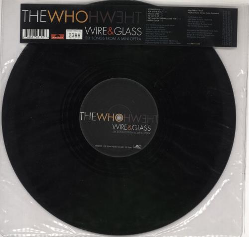 """The Who Wire & Glass 12"""" vinyl single (12 inch record / Maxi-single) UK WHO12WI365160"""