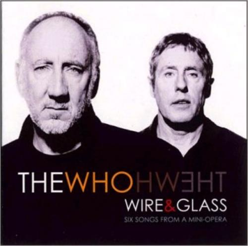 """The Who Wire & Glass CD single (CD5 / 5"""") Australian WHOC5WI370818"""