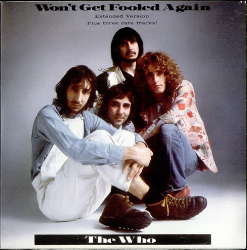 "The Who Won't Get Fooled Again CD single (CD5 / 5"") UK WHOC5WO39572"