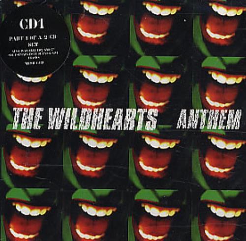 "The Wildhearts Anthem - Cd1 CD single (CD5 / 5"") UK WDHC5AN91331"
