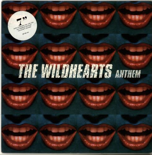 "The Wildhearts Anthem 7"" vinyl single (7 inch record) UK WDH07AN91333"