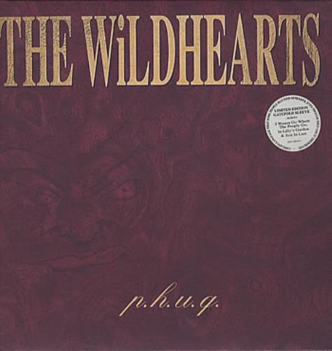 The Wildhearts P.H.U.Q. - Gatefold vinyl LP album (LP record) UK WDHLPPH64656