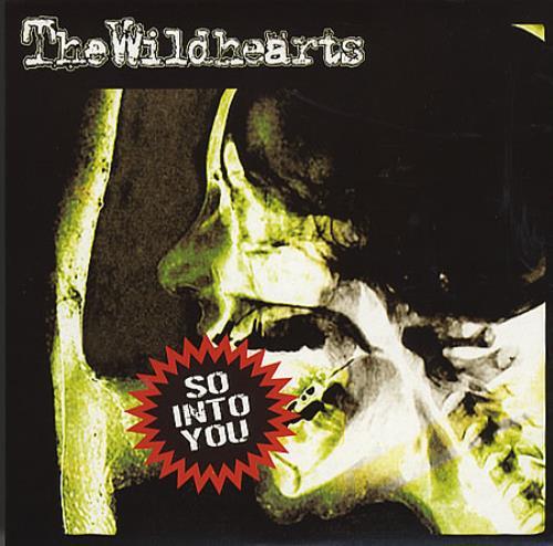 "The Wildhearts So Into You - Red Vinyl 7"" vinyl single (7 inch record) UK WDH07SO245002"