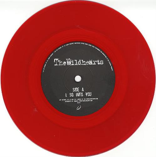 "The Wildhearts So Into You - Red Vinyl 7"" vinyl single (7 inch record) UK WDH07SO245002"