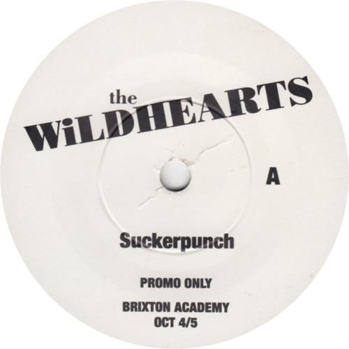 "The Wildhearts Suckerpunch + Flyer 7"" vinyl single (7 inch record) UK WDH07SU745542"