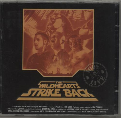 The Wildhearts The Wildhearts Strike Back 2 CD album set (Double CD) UK WDH2CTH678668