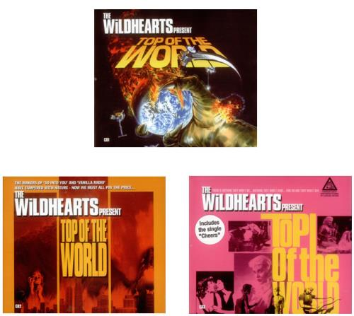 The Wildhearts Top Of The World 3-CD album set (Triple CD) UK WDH3CTO262300