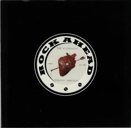 "The Wildhearts Turning American 12"" vinyl single (12 inch record / Maxi-single) UK WDH12TU71004"
