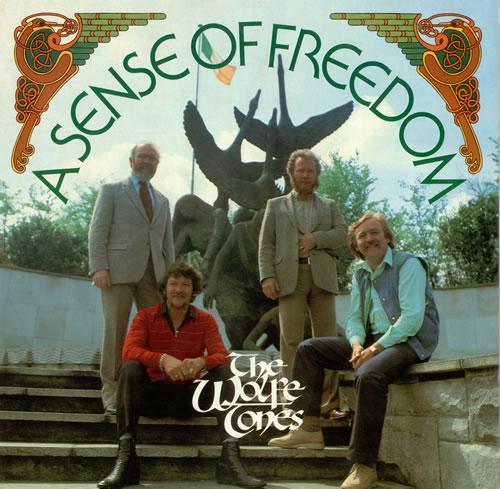 The Wolfe Tones A Sense Of Freedom vinyl LP album (LP record) Irish WCNLPAS489945