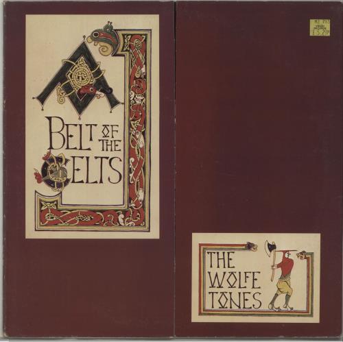 The Wolfe Tones Belt Of The Celts vinyl LP album (LP record) Irish WCNLPBE486646