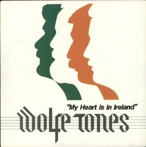 """The Wolfe Tones My Heart Is In Ireland 7"""" vinyl single (7 inch record) UK WCN07MY729288"""