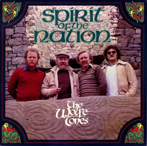 The Wolfe Tones Spirit Of The Nation vinyl LP album (LP record) Irish WCNLPSP490063