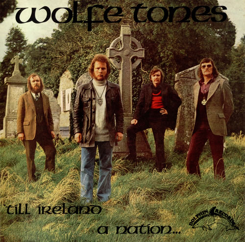 The Wolfe Tones 'Till Ireland A Nation vinyl LP album (LP record) Irish WCNLPTI486649
