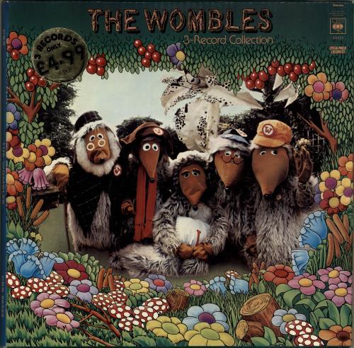 The Wombles 3-Record Collection Vinyl Box Set UK WMBVXRE559322