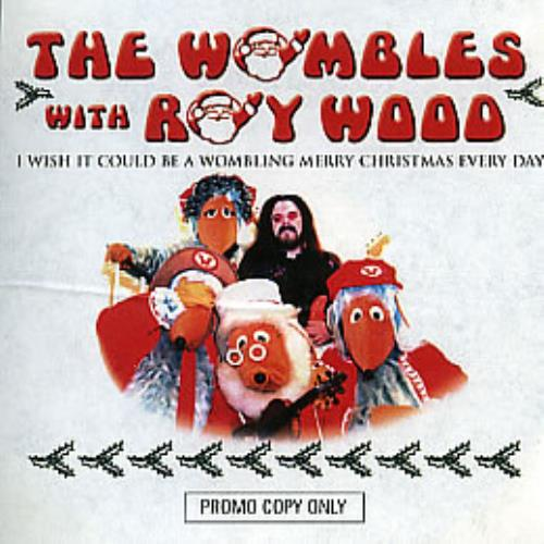 the wombles i wish it could be a wombling merry christmas every day cd r