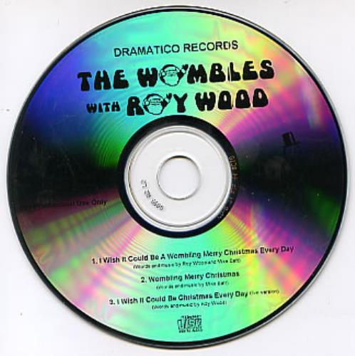 The Wombles I Wish It Could Be A Wombling Merry Christmas Every Day CD-R acetate UK WMBCRIW290896