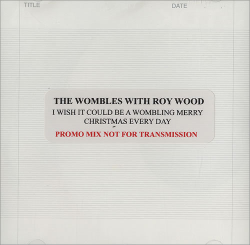 The Wombles I Wish It Could Be A Wombling Merry Christmas Every Day CD-R acetate UK WMBCRIW490371