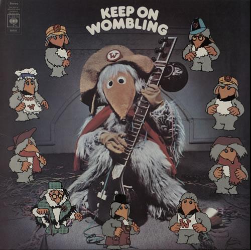 The Wombles Keep On Wombling + insert vinyl LP album (LP record) UK WMBLPKE577091
