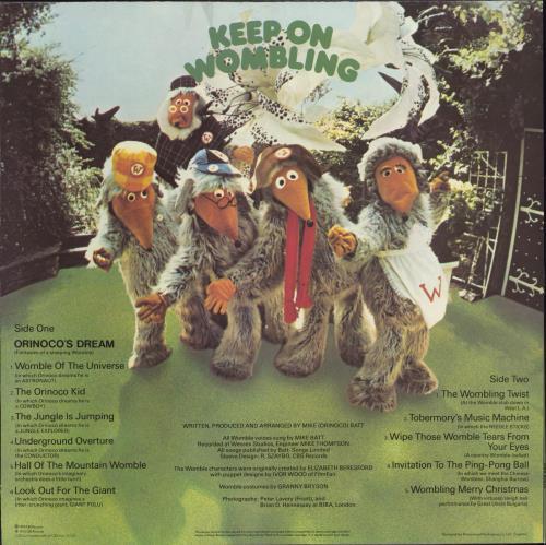 The Wombles Keep On Wombling vinyl LP album (LP record) UK WMBLPKE769579