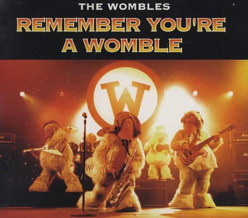 "The Wombles Remember You're A Womble CD single (CD5 / 5"") UK WMBC5RE143079"