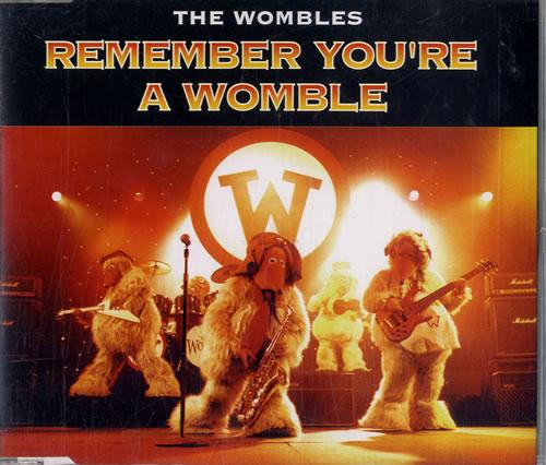 "The Wombles Remember You're A Womble CD single (CD5 / 5"") UK WMBC5RE595969"