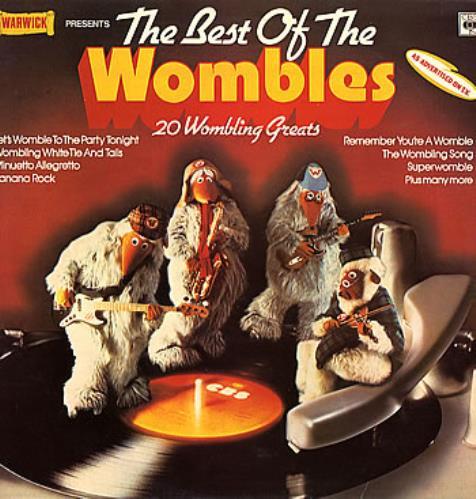 The Wombles The Best Of The Wombles vinyl LP album (LP record) UK WMBLPTH228960