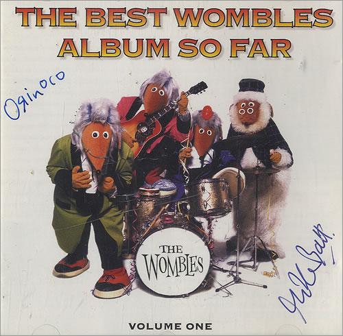 The Wombles The Best Wombles Album So Far - Signed CD album (CDLP) UK WMBCDTH174848