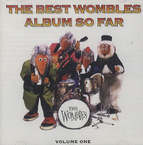 The Wombles The Best Wombles Album So Far Volume One CD album (CDLP) UK WMBCDTH338969