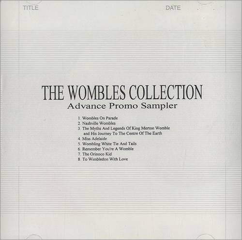 The Wombles The Wombles Collection - Album Sampler CD-R acetate UK WMBCRTH490369