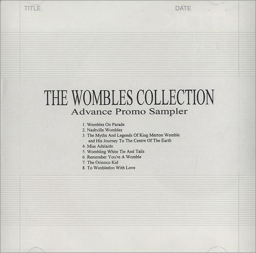 The Wombles The Wombles Collection - Album Sampler CD-R acetate UK WMBCRTH490369