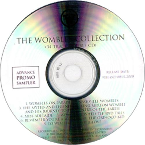 The Wombles The Wombles Collection CD-R acetate UK WMBCRTH174844